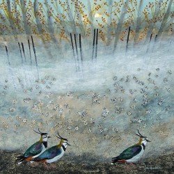 Misty Daisy Lapwings - Ingebjorg L.Smith