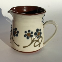 Dark flowered half-pint jug