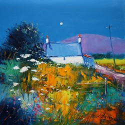 Autumn moonrise Isle of Gigha