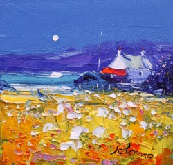 Autumn gloaming Isle of Gigha