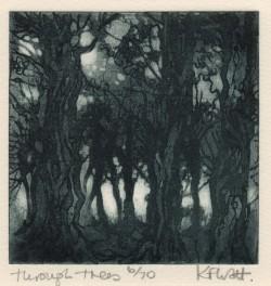 Through Trees