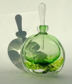 Clear inland bottle moss green
