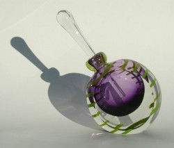 Lilac green new angle bottle