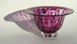 Lilac ruby urchin bowl