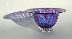 Blue ruby urchin bowl