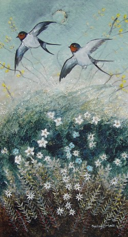 Forget-Me-Not- Swallows