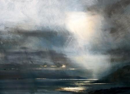 Rain and light, Cuillin Hills