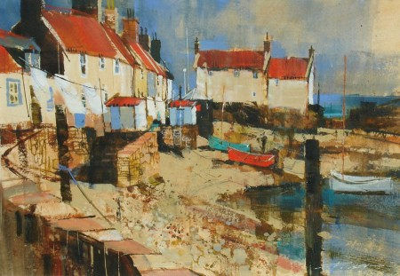 Cottages and Whitewash, Pittenweem