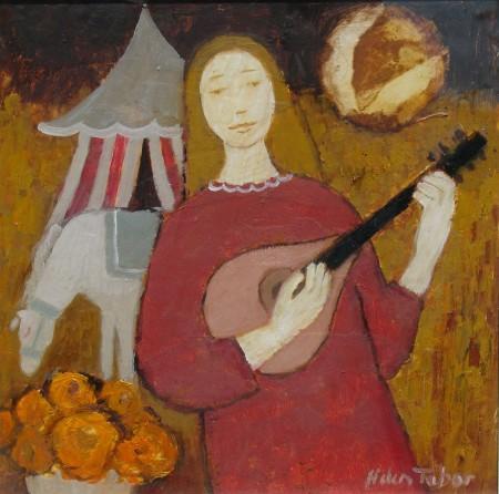 Girl with Mandolin