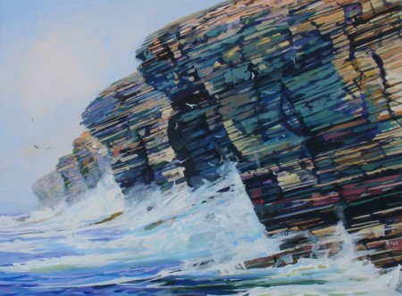 Wave Study, Yesnaby