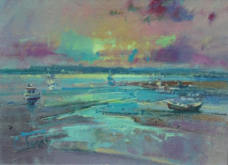 Boats, Kirkcudbright Bay