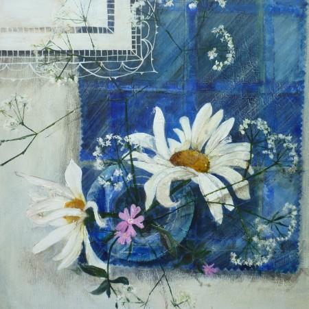Wild Flowers on Tartan