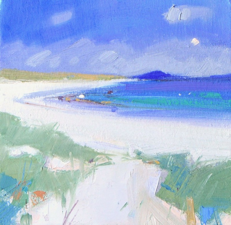 Beach Scene, North Uist