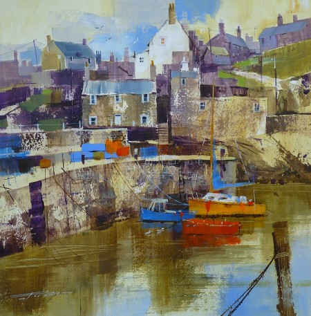 Bright Boats and Grey Buildings, Portsoy