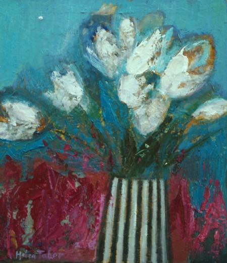 White Tulips —Helen Tabor