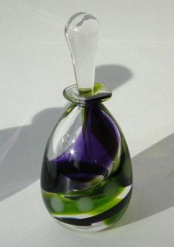 Moss lilac swirl bottle — Jane Charles