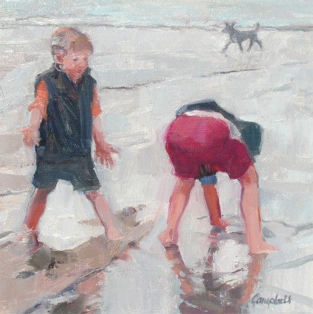Very Low Tide at St Andrews — Catriona Campbell