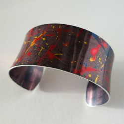 Splatter bangle