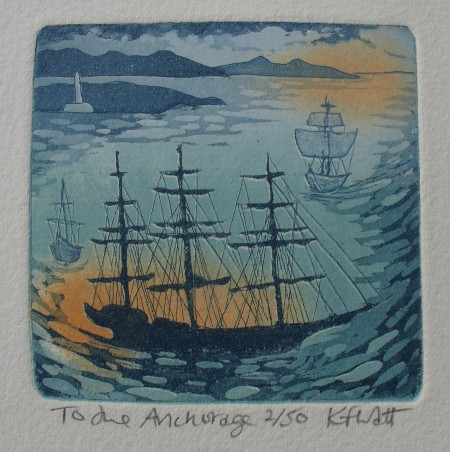 To the Anchorage