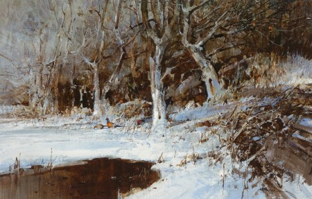 Winter Pheasants - Alan Hayman