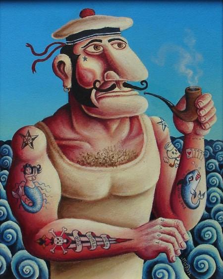 The Tattooed Sailor