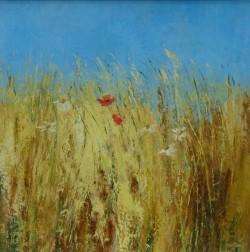 Blue Sky and Barley