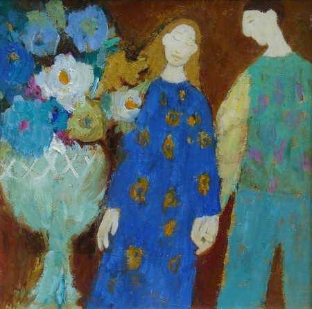 Lovers with Flowers