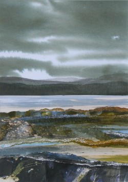 Evening Storm Clouds, Western Isles