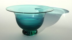 Green lilac new flared bowl