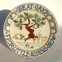 Great Oaks platter