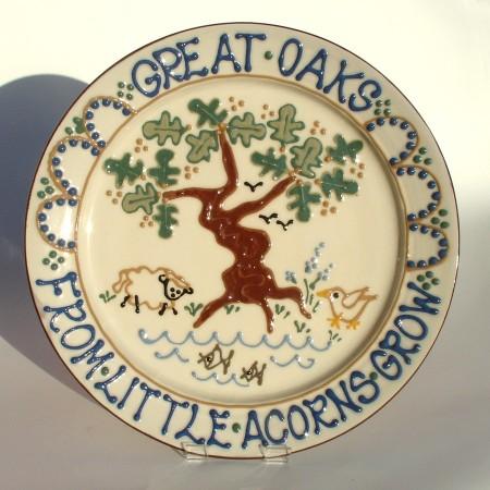 Great Oaks platter