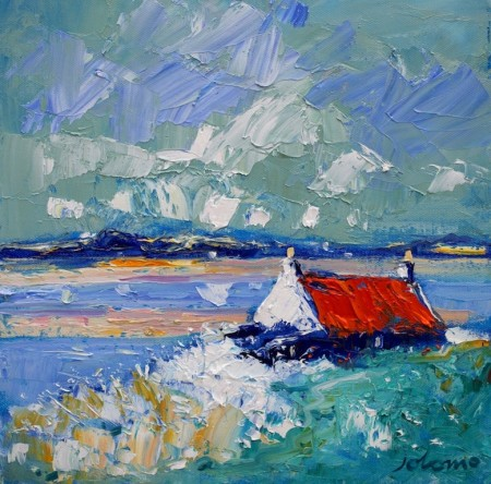 Winterlight Crois Mhor croft Islay
