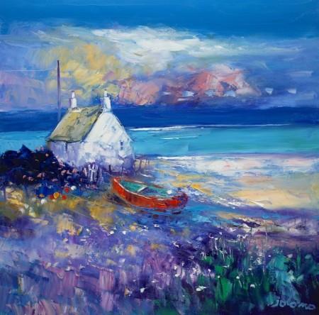 The red boat Isle of Gigha