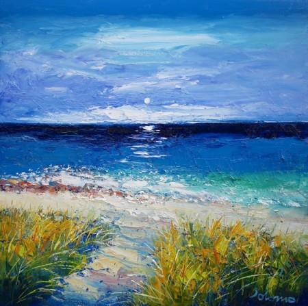 Path to Columba's Beach Isle of Iona