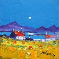 Moonrise Isle of Benbecula