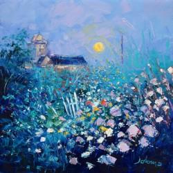 Harvest moon Abbey Gardens Isle of Iona