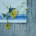 Wild Flowers on Ticking