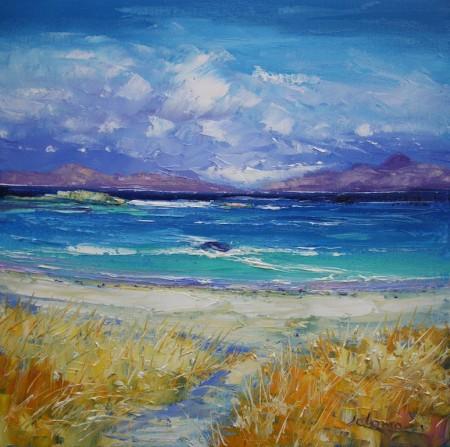 Beach Path to Traigh Bhan Iona