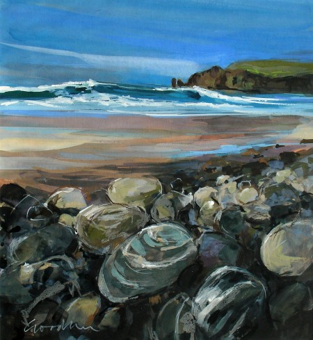 Sea Smoothed Stones, Isle of Lewis