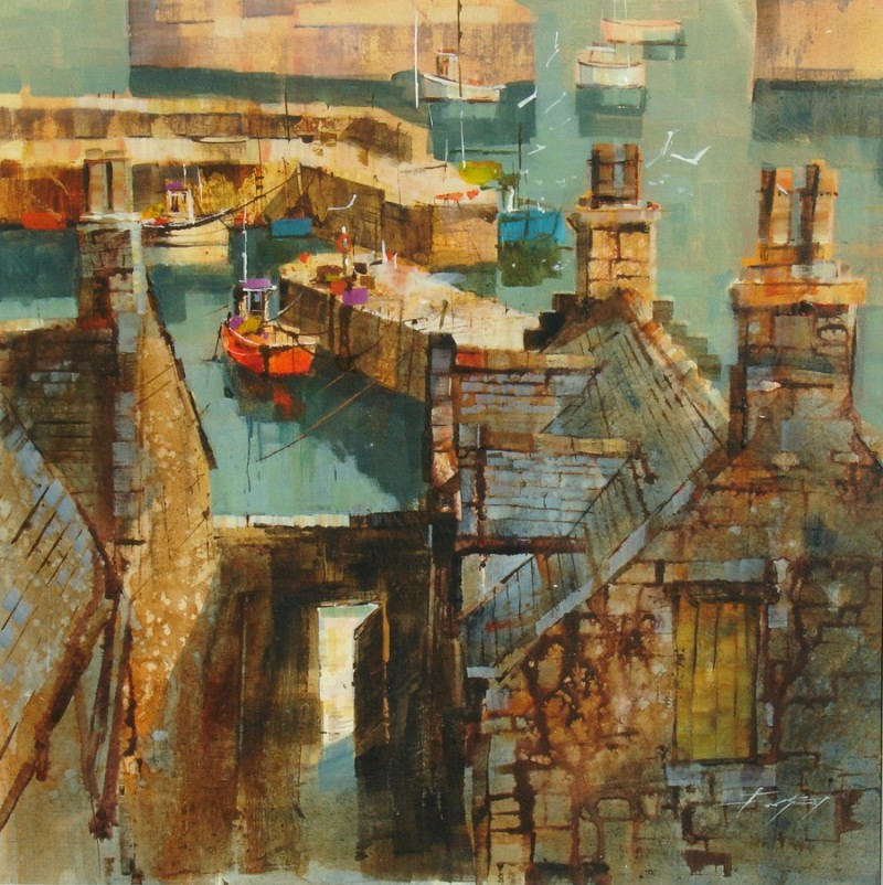 Across the Rooftops, Portsoy