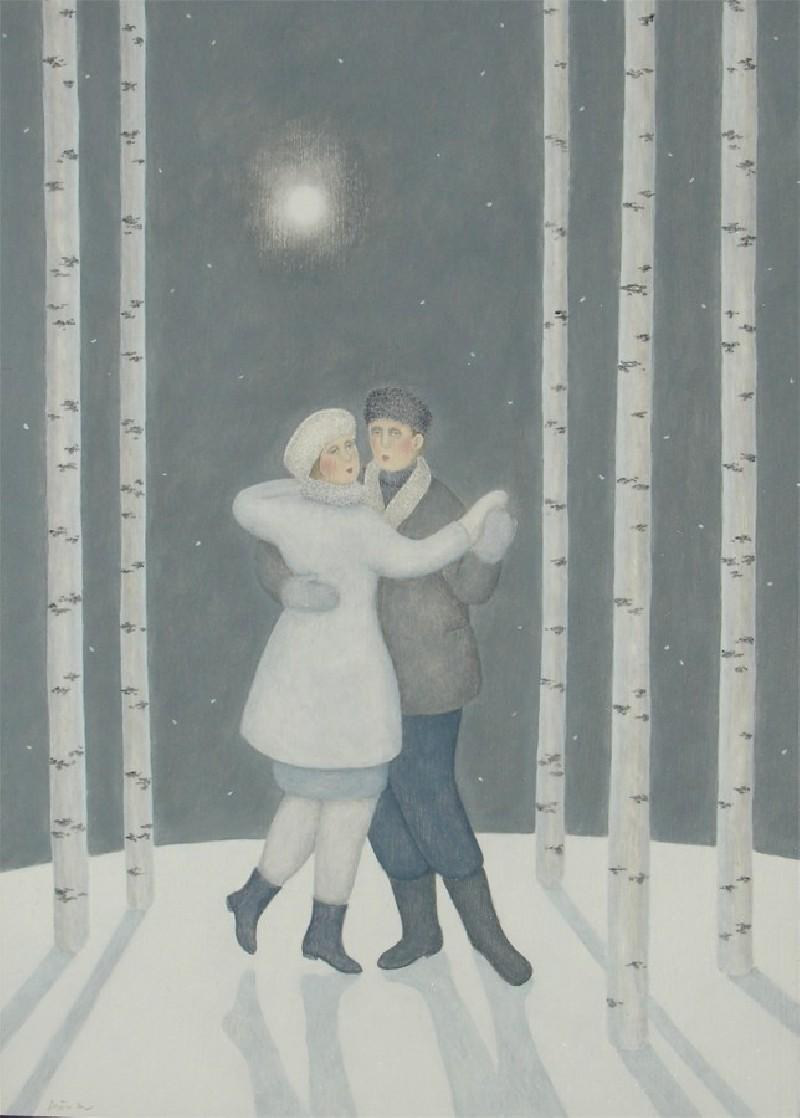 Through the White Winter Woods