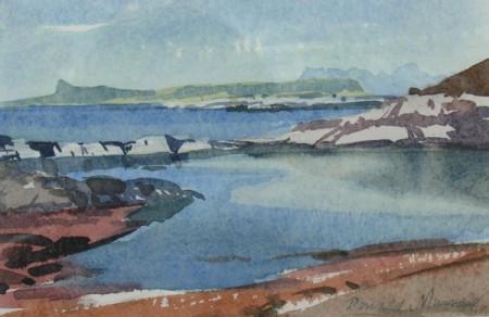 A Blue Morning, Arisaig