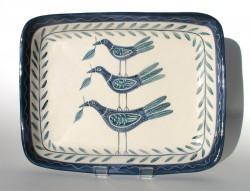 Three Birds Plate