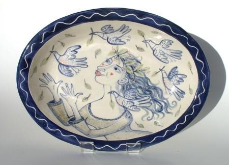 Bird Woman Dish