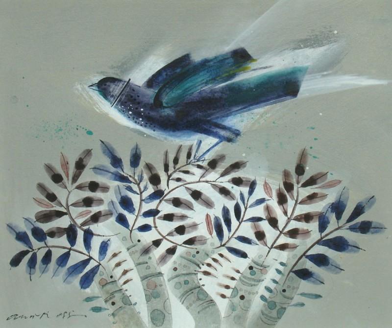 Birdbush II by Ann Ross RSW