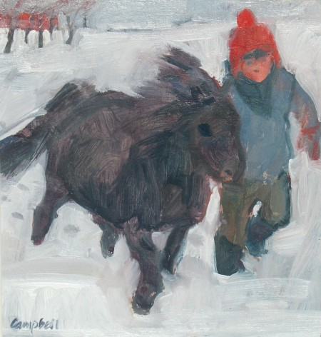 Pony and Boy by Catriona Campbell