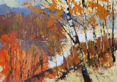 Autumn Colours, Loch Clunie