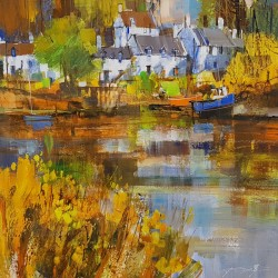 Reflecting Autumn, Plockton