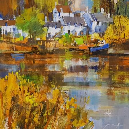 Reflecting Autumn, Plockton