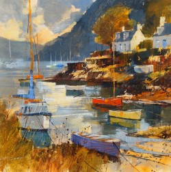 Evening Sunshine, Plockton